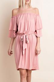 143 Story Soft Pink Dress - Front cropped