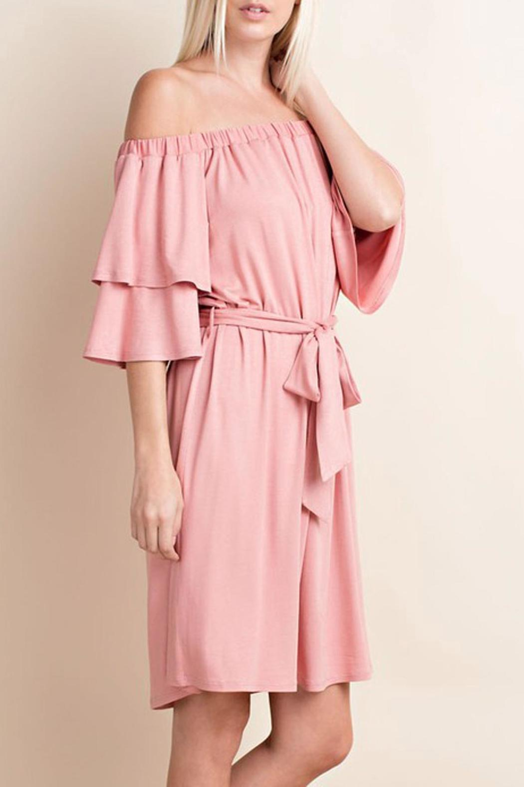 143 Story Soft Pink Dress - Front Full Image