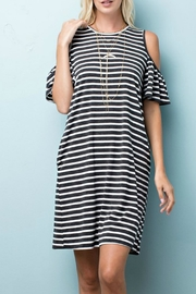 143 Story Lady Cold Shoulder Top - Product Mini Image