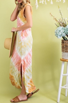 143 Story Sunrise Tie Dye Maxi Dress - Alternate List Image