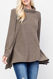 143 Story Turtle Neck Tunic - Front full body