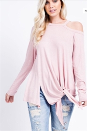 143 Story Unbalance Hem Top - Product Mini Image