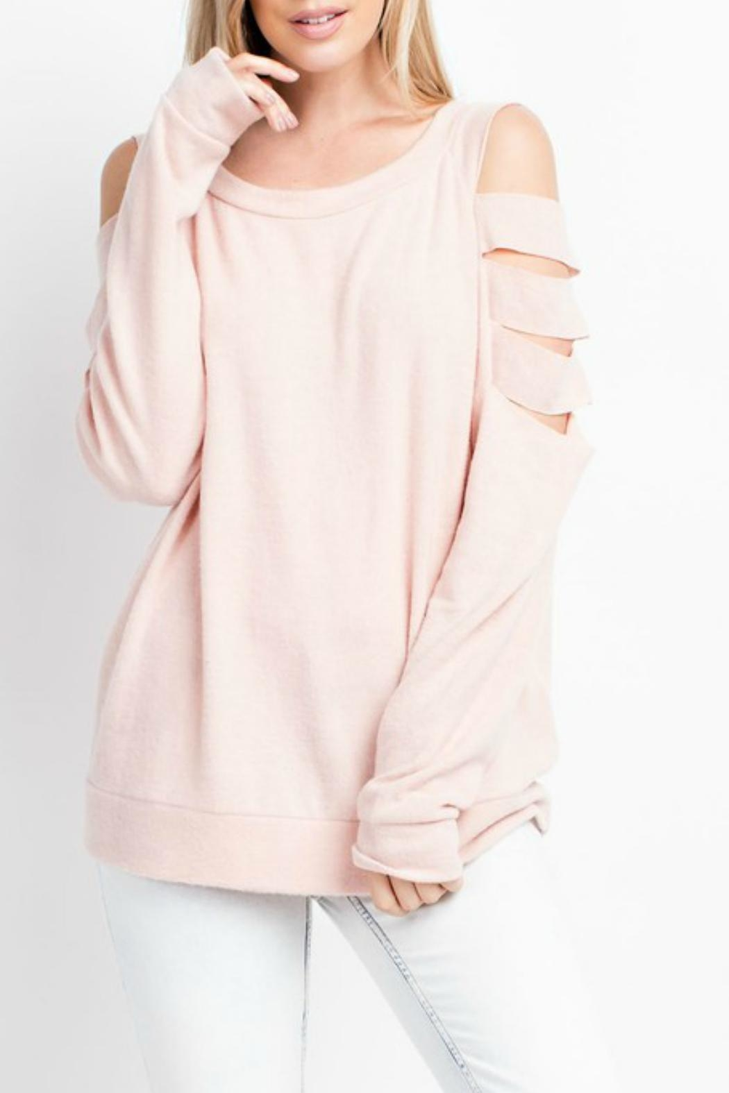 143 Story Welcome-To-Spring Tunic Top - Main Image