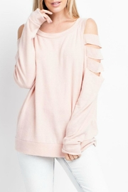 143 Story Welcome-To-Spring Tunic Top - Front cropped