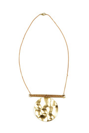 Shoptiques Product: Long Brass Necklace