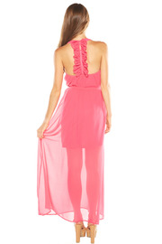 Ya Los Angeles Pink Maxi Dress - Side cropped
