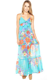 Shoptiques Product: Long Floral Maxi Dress