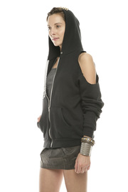 Bri Bridge Just Spikes and Heels Hoodie - Side cropped
