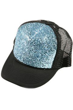 Bri Bridge Glitter Hat - Alternate List Image