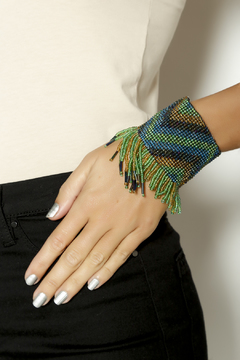Shoptiques Product: Stretchy Tribal Cuff