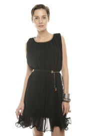 Shoptiques Product: Accordion Pleat Dress