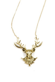 Shoptiques Product: Deer Necklace - Other