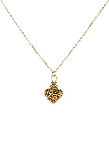 Bliss Antique Heart Necklace - Main Image