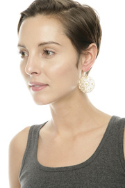 Filligree Crystal Earrings - Other