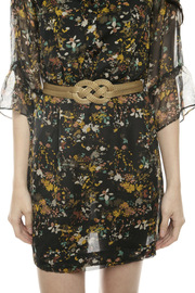 Shoptiques Product: Narrow Braided Gold Belt - Other