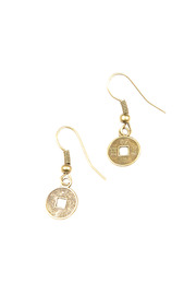 Shoptiques Product: Chinese Coin Earrings