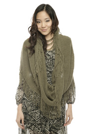 Shoptiques Product: Green Infinity Scarf - Other
