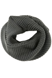 Shiraleah Charcoal Infinity Scarf - Other