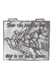 Circare Remembrance Wall Ornament - Front cropped