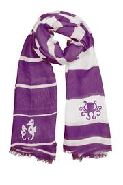 Winky Designs Purple Seahorse Scarf - Product Mini Image