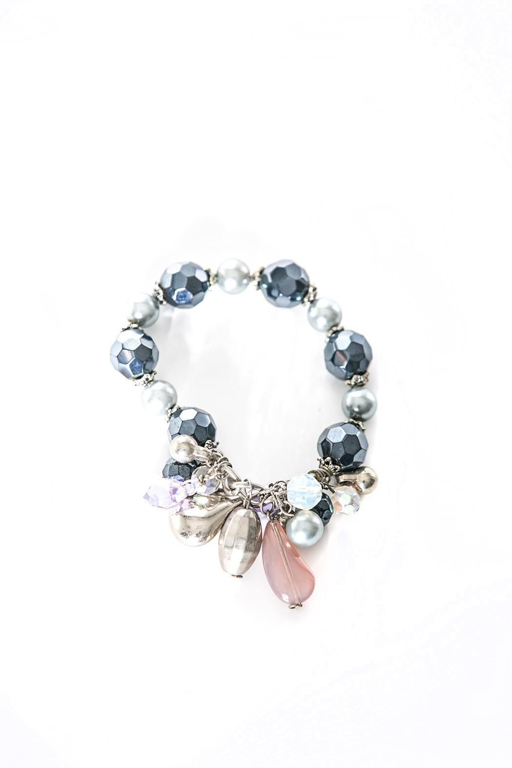 Creative Treasures Metallic Blue Bracelet - Main Image