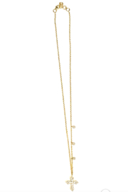 The Woods Fine Jewelry  14K Cross on Chain - Product Mini Image