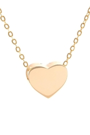 Lets Accessorize 14k Gold Heart Necklace - Product Mini Image