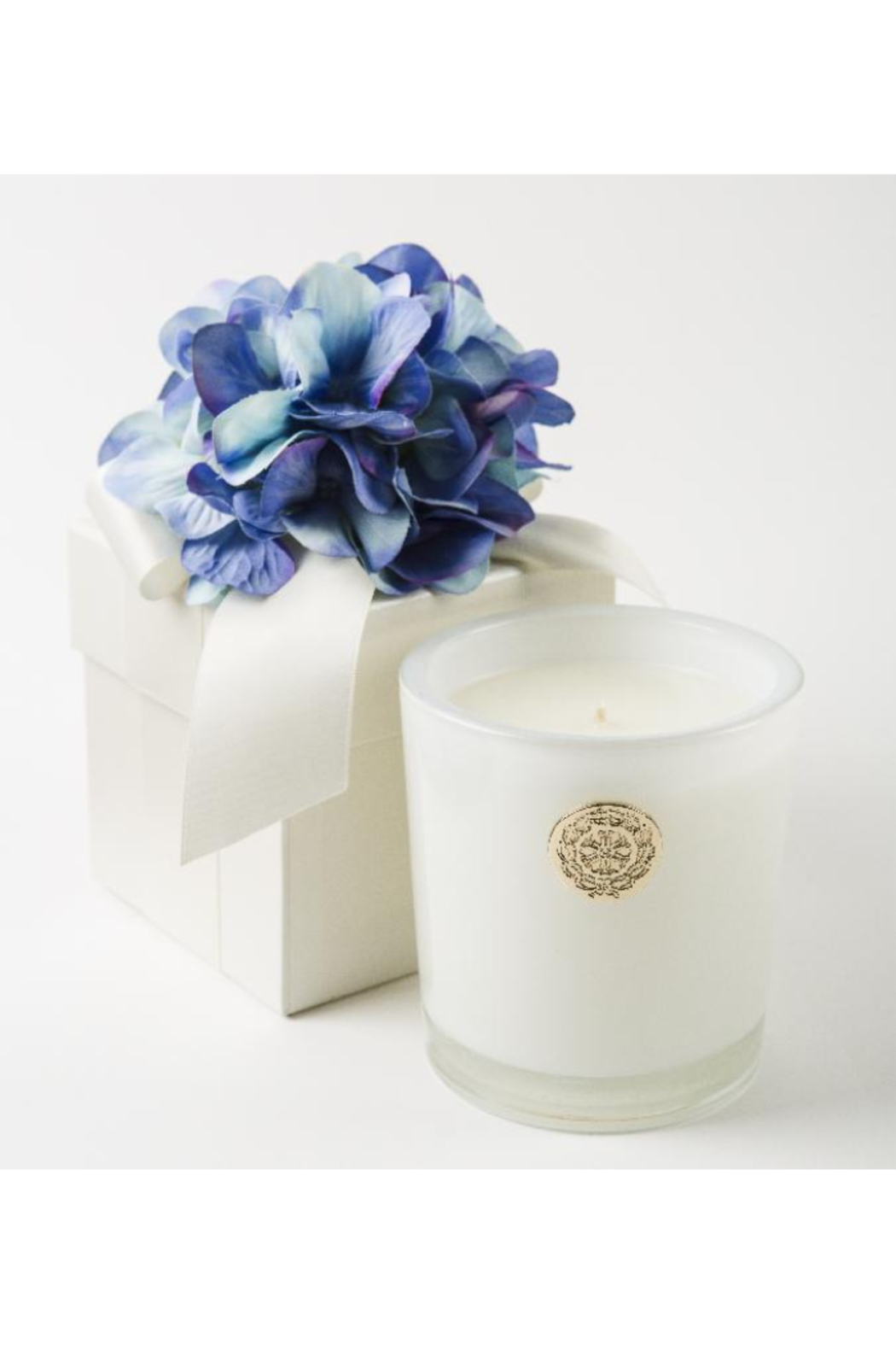 The Birds Nest 14OZ-BLUE HYDRANGEA WITH GIFT BOX - Main Image