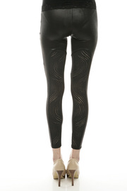 Shoptiques Product: Circle-Cutout Leggings - Back cropped