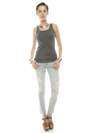 Unknown Factory Skinny Biker - Front cropped