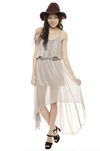 Shoptiques Product: Champagne Party Dress - main