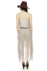 Kris Champagne Party Dress - Side cropped