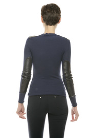 Shoptiques Product: Leather Commando - Back cropped