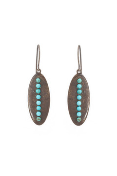Rebel Designs Turquoise Earrings - Alternate List Image