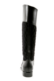 SPAZIOMODA Asymmetric Leather boots - Back cropped