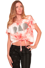 Shoptiques Product: Rad Tie Front Tee