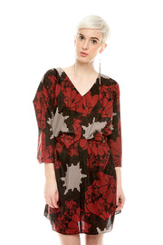 Shoptiques Product: Floral Belted Dress