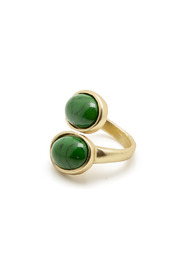 Two's Double Stone Ring - Product Mini Image