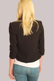 Cynthia Vincent Shawl Collar Blazer - Back cropped