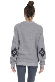 OMSK Molleton Sweatshirt - Back cropped