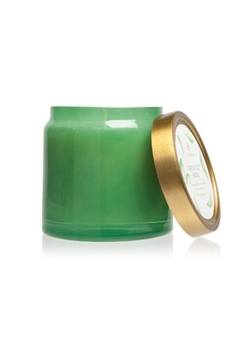 Thymes 16 OZ FRESH CUT BASIL GLASS JAR CANDLE - Product List Image