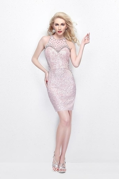 Shoptiques Product: 1626 - Frosty Pink Cocktail Dress