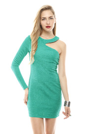 Shoptiques Product: One-Sleeve Minidress