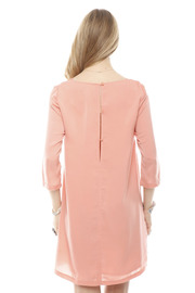 BCBGeneration Persimmon Shift Dress - Back cropped
