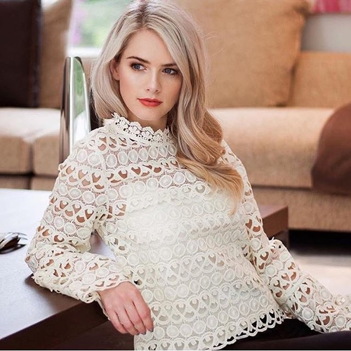 Unknown Factory Crochet Blouse - Main Image