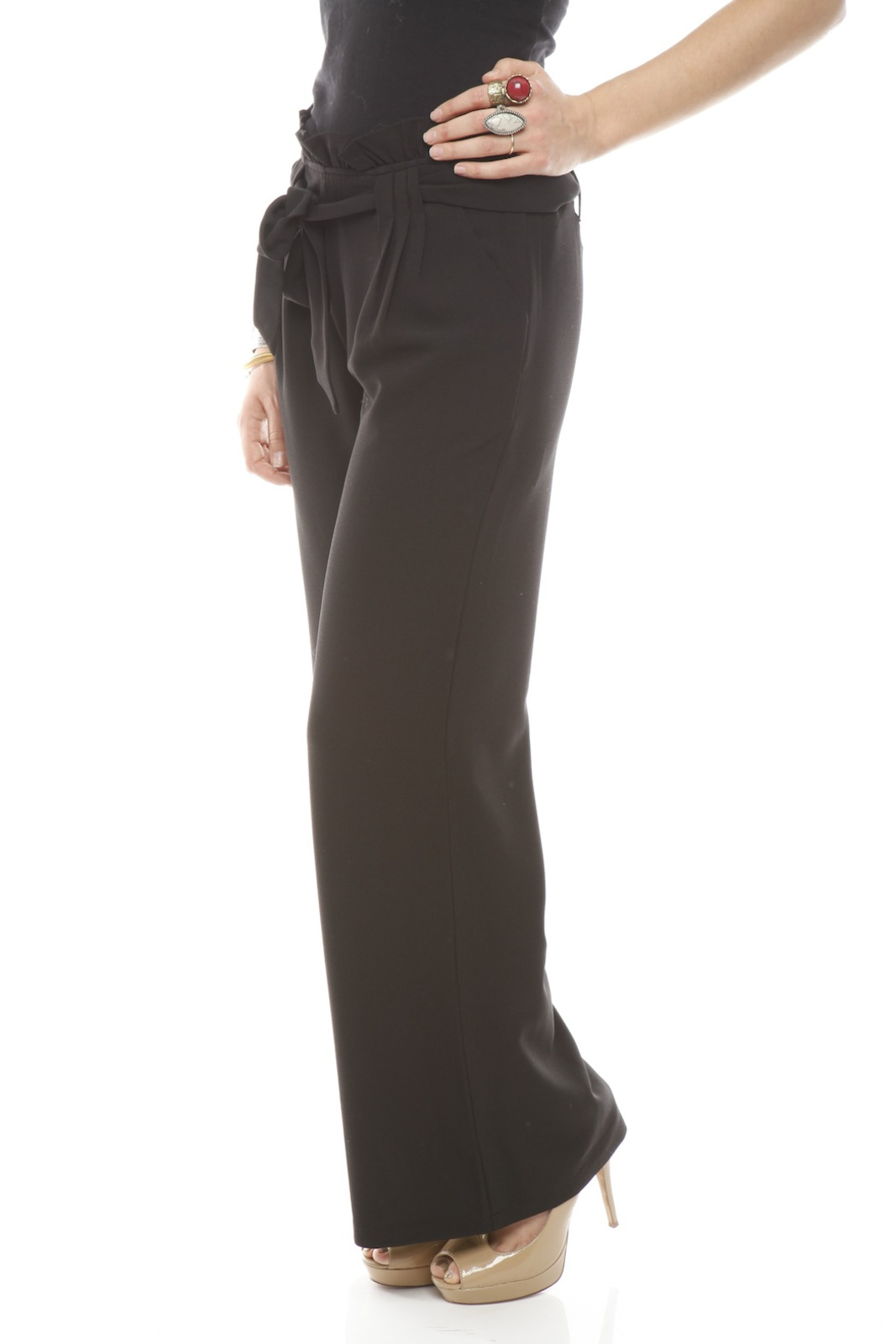 Darling High-Waist Trouser - Side Cropped Image