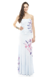 Shoptiques Product: Printed Maxi Tube Dress
