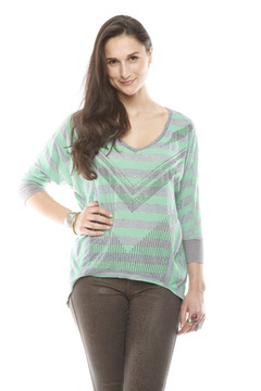 Miss Me Oversize Dolman Top - Product List Image