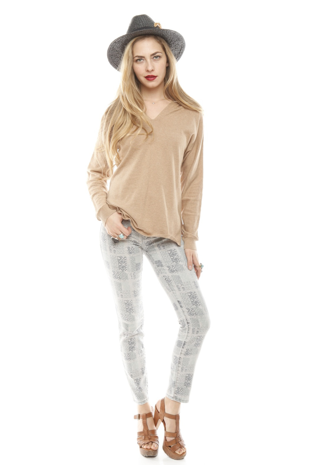 BlankNYC Ankle Moroccan Jeans - Side Cropped Image