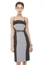 Shoptiques Product: Skinny Strap Leather Dress
